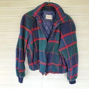 Pendleton - Vintage Plaid Wool Jacket